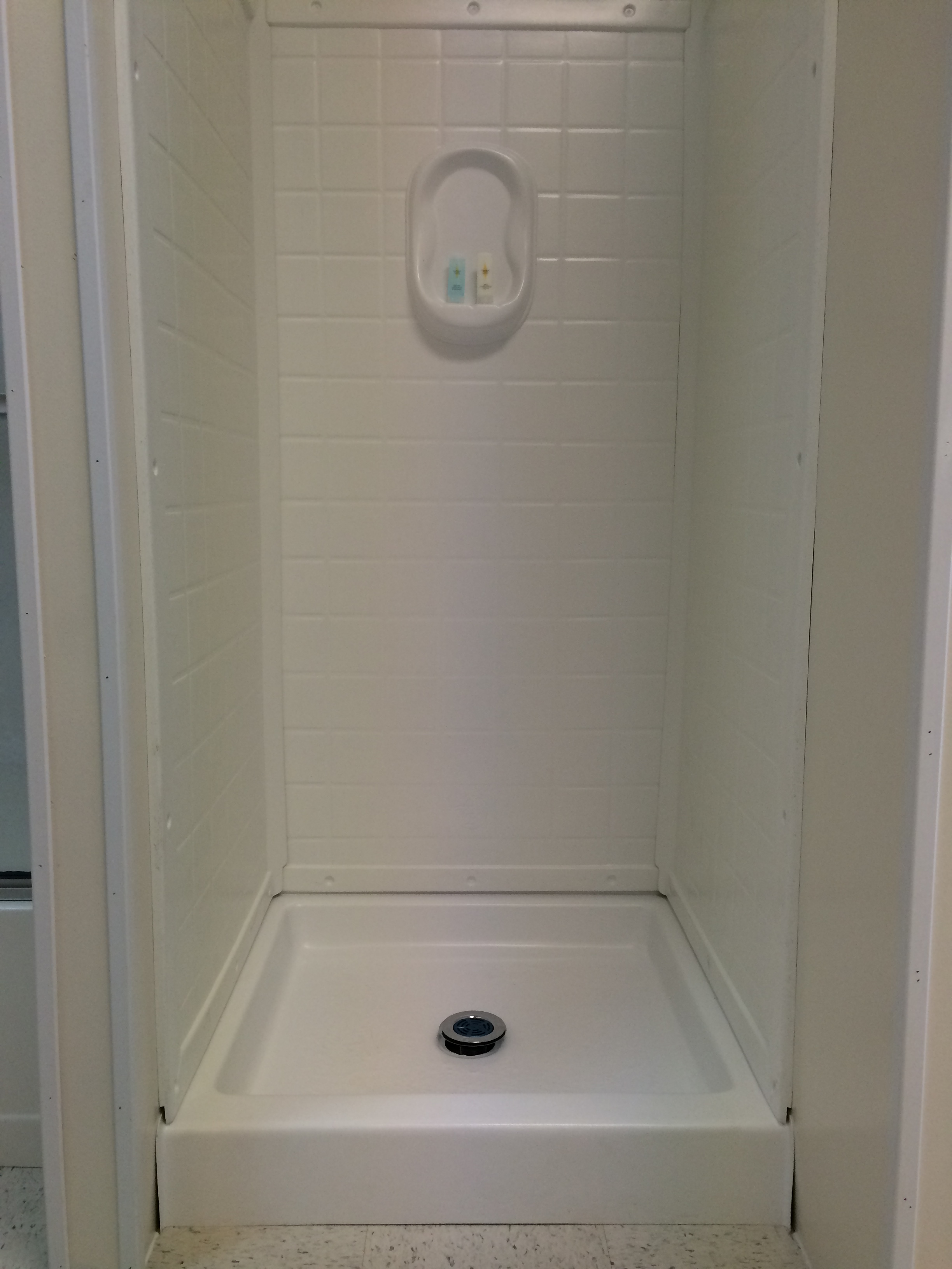 SHOWER BASE & SURROUND (PLASTIC) - Royal Durham Supply
