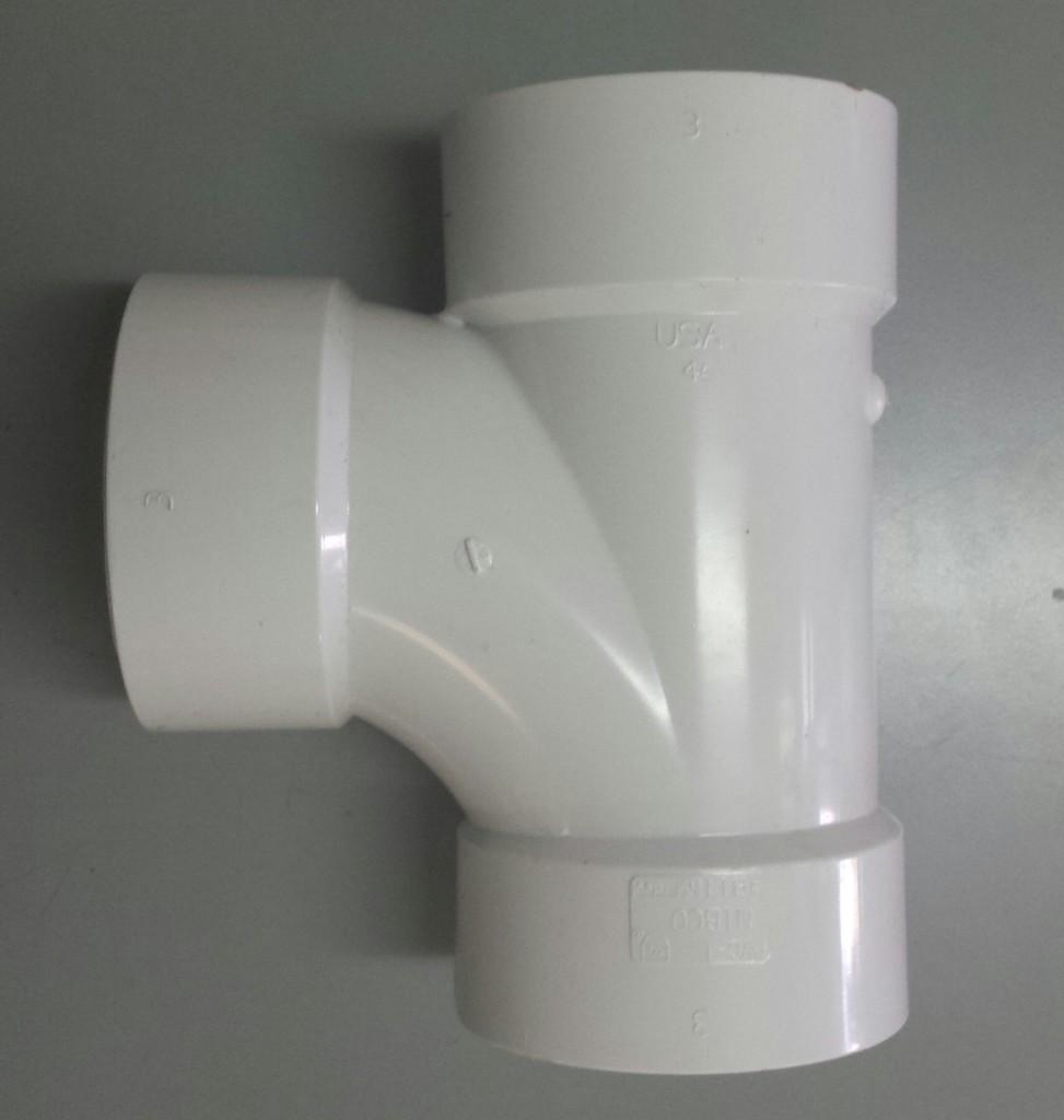 Pvc Sanitary Tee 3 Quot Royal Durham Supply