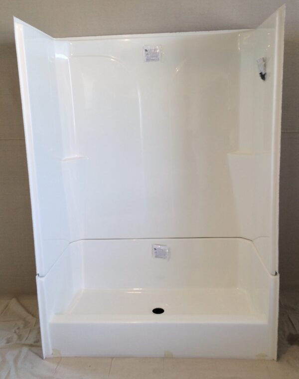 Fiberglass Shower Base W Surround Royal Durham Supply