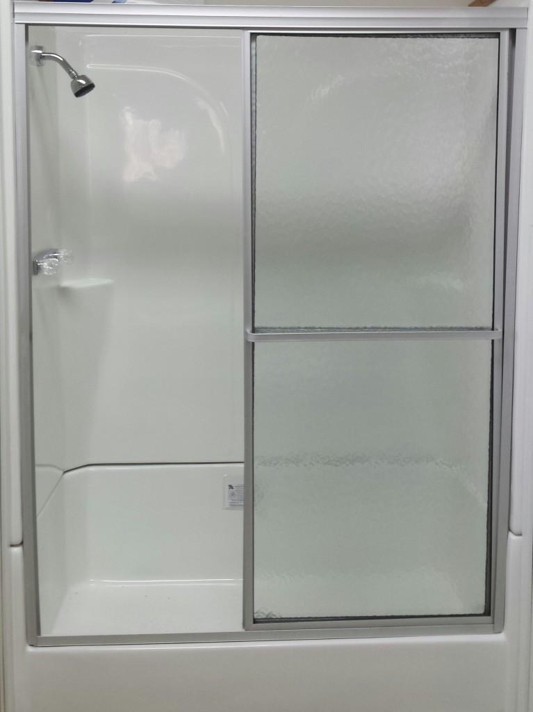 Fiberglass Shower Base W Surround And Door Royal Durham