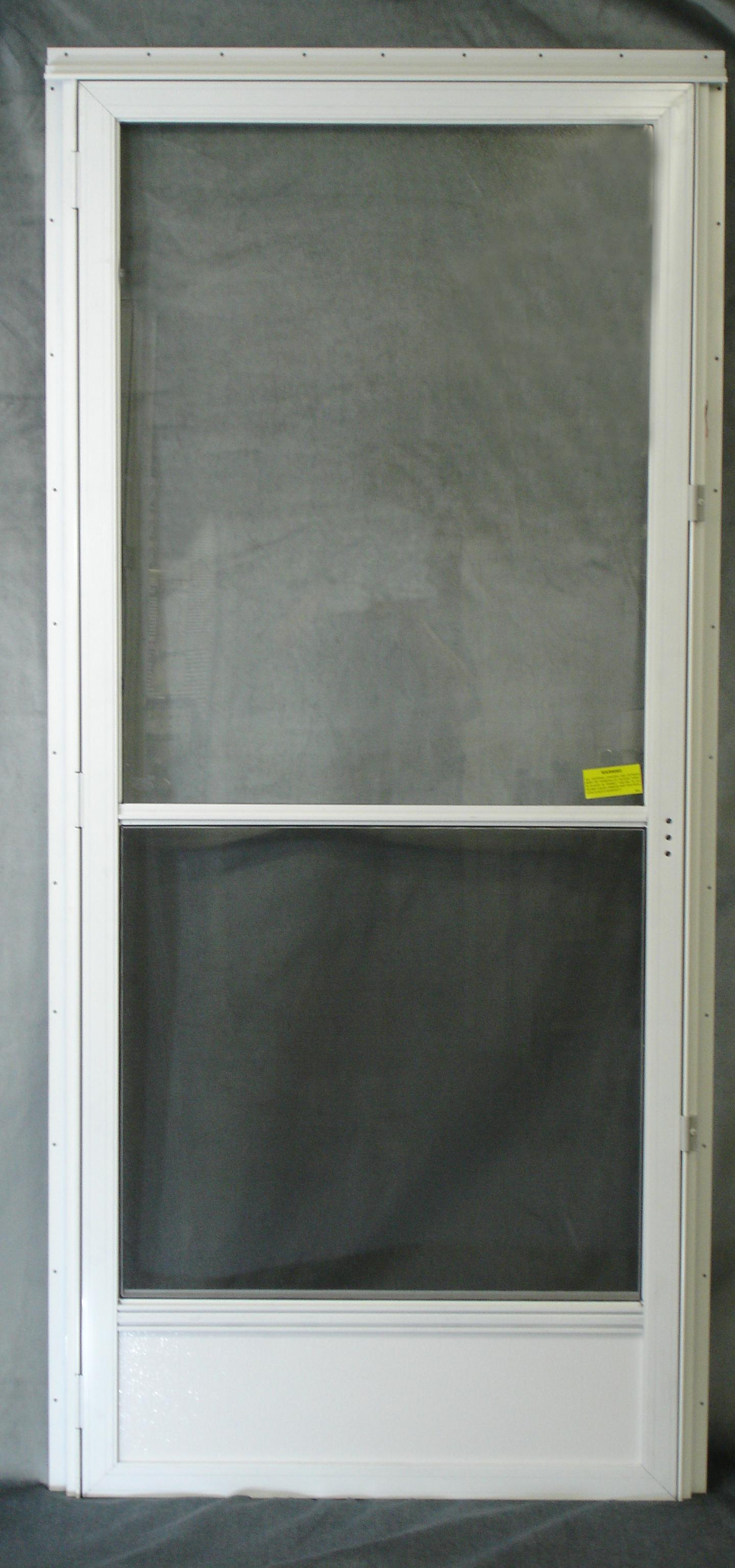 Storm Door Less Hdw Royal Durham Supply