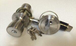 130052 Stainless Combo Lock & Deadbolt