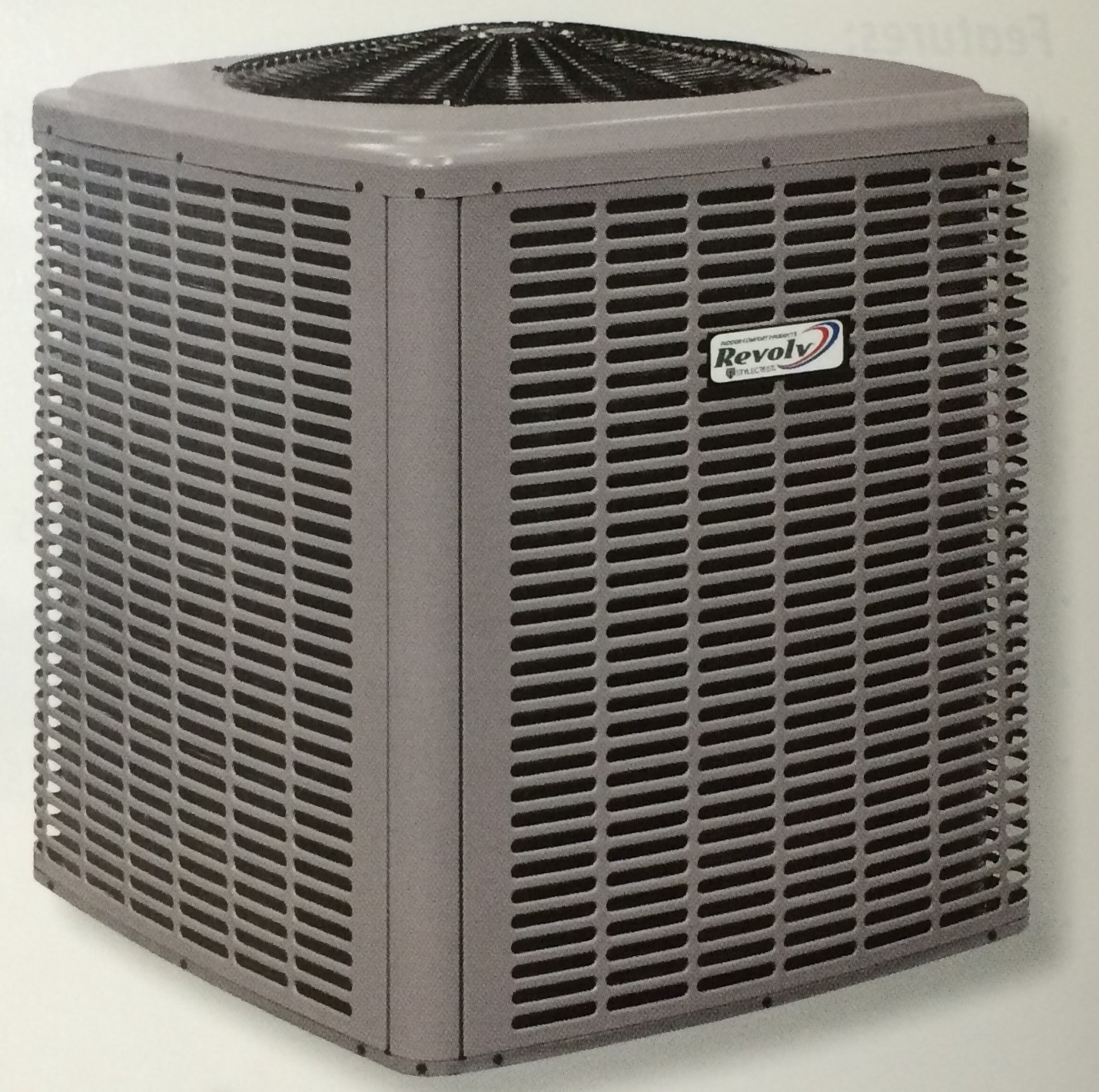Heating And Air Conditioning Units : Heat pump outdoor unit royal durham supply