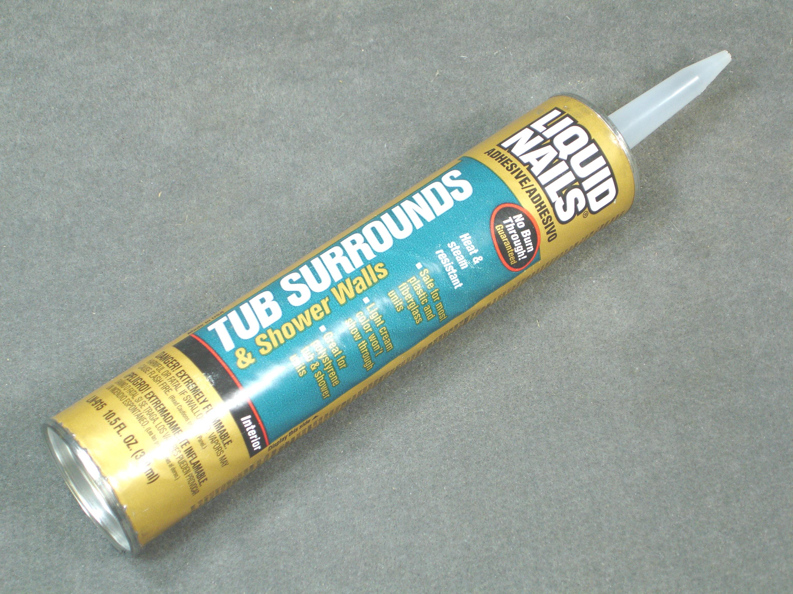 LIQUID NAIL FOR TUB SURROUNDS - Royal Durham Supply